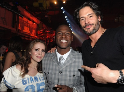 Alyssa Milano, Antonio Brown, Joe Manganiello