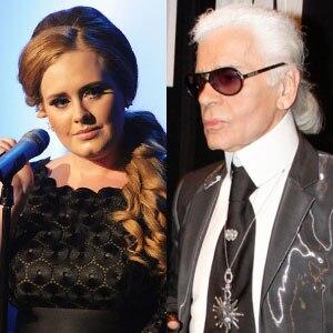 Adele, Karl Lagerfield