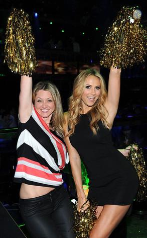 Stacy Keibler Parties In Las Vegas Was George Clooney