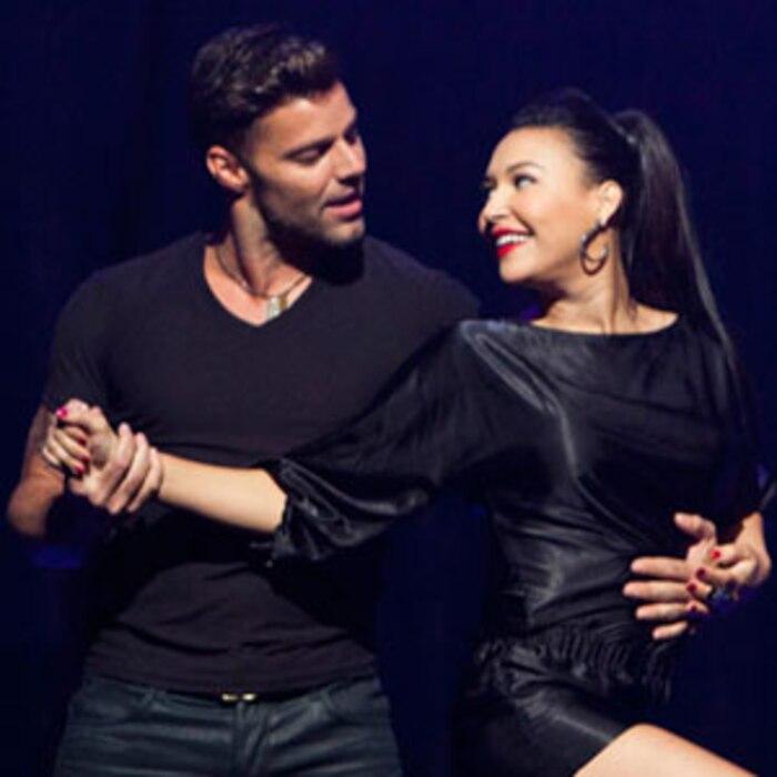 Glee, Ricky Martin, Naya Rivera