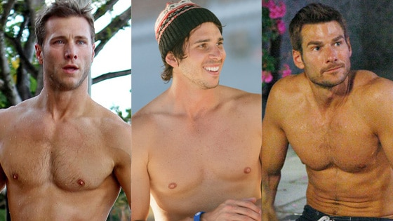 Jake Pavelka, Ben Flajnik, Brad Womack, The Bachelor
