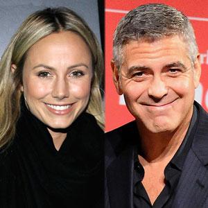Stacy Keibler, George Clooney