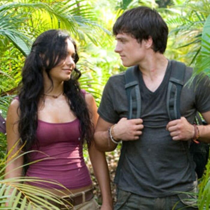 Journey 2 The Mysterious Island, Vanessa Hudgens, Josh Hutcherson