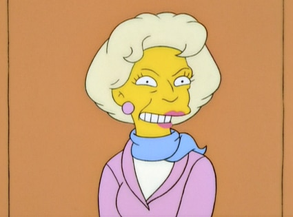 Betty White, The Simpsons