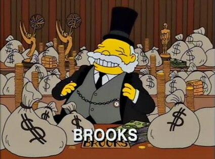 James L. Brooks, The Simpsons