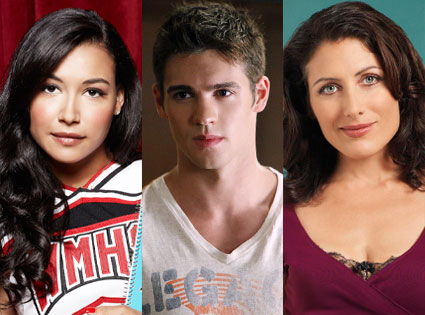 Glee, Naya Rivera, The Vampire Diaries, Steven. R. McQueen, House, Lisa Edelstein.