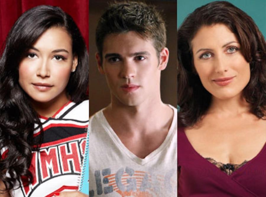 Glee, Naya Rivera, The Vampire Diaries, Steven. R. McQueen, House, Lisa Edelstein.
