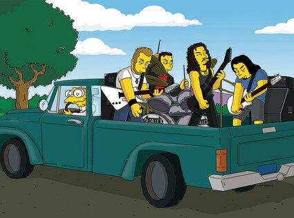 Metallica, The Simpsons