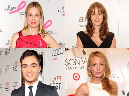 Blake Lively, Leighton Meester, Kelly Rutherford, Ed Westwick
