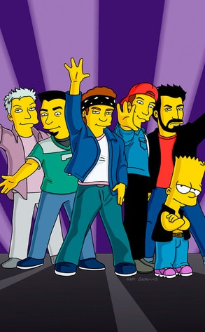 N'Sync, The Simpsons