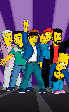 N Sync From The Simpsons Greatest Guest Stars E News