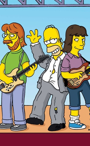 Phish, The Simpsons
