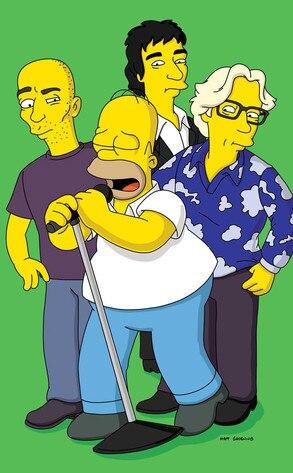REM, The Simpsons