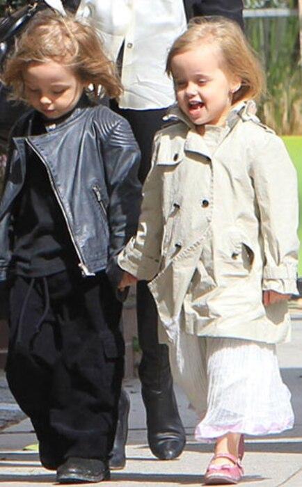 Knox Jolie-Pitt, Vivienne Jolie-Pitt