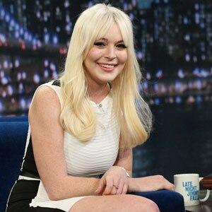 Lindsay Lohan, LATE NIGHT WITH JIMMY FALLON