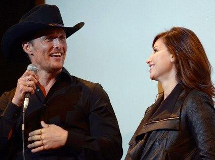 Matthew McConaughey, Gina Gershon