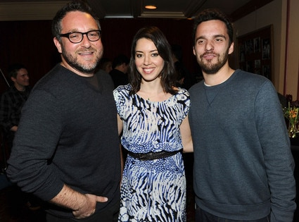 Colin Trevorrow, Aubrey Plaza, Jake Johnson