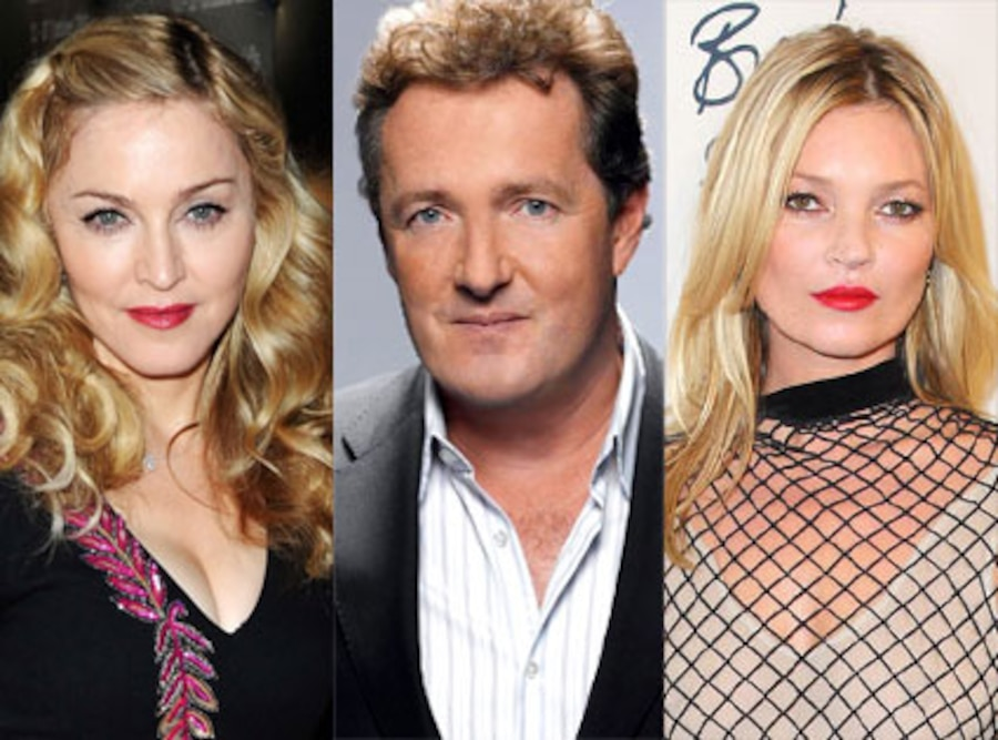 Madonna, Piers Morgan, Kate Moss