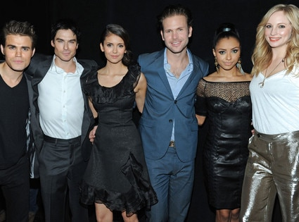 The Vampire Diaries, Paul Wesley, Ian Somerhalder, Nina Dobrev, Matt Davis, Kat Graham, Candice Accola