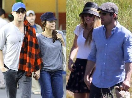 Ryan Gosling, Eva Mendes, Blake Lively, Ryan Reynolds