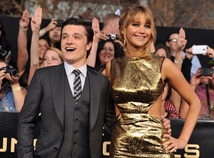 Josh Hutcherson, Jennifer Lawrence