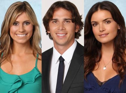 Lindzi Cox, Ben Flajnik, Courtney Robertson, The Bachelor