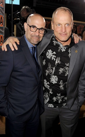 Stanley Tucci, Woody Harrelson