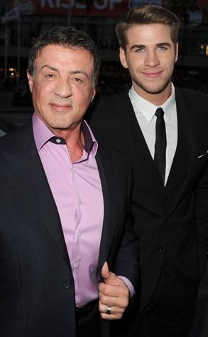 Sylvester Stallone, Liam Hemsworth