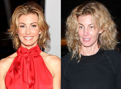 Faith Hill From Stars Without Makeup E News