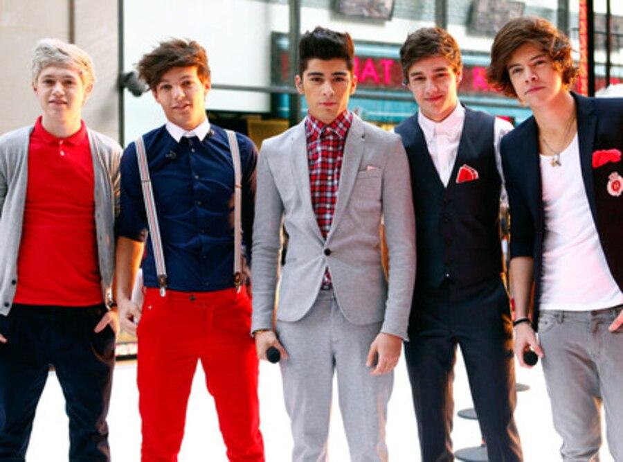 Niall Horan, Louis Tomlinson, Zayn Malik, Liam Payne, Harry Styles, One Direction