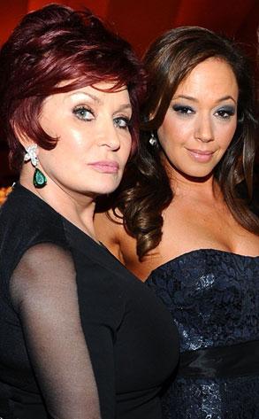Sharon Osbourne, Leah Remini