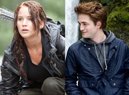 Hunger Games, Twilight