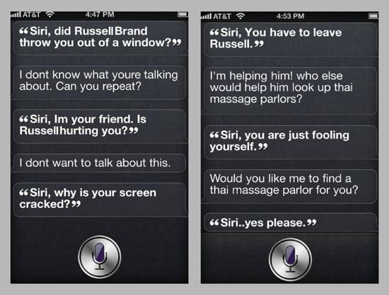 Soup Russel Brand Siri