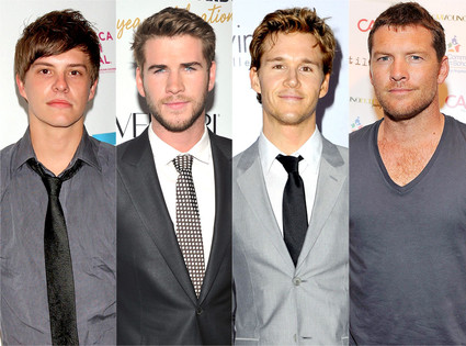 Xavier Samuel, Liam Hemsworth, Ryan Kwanten, Sam Worthington