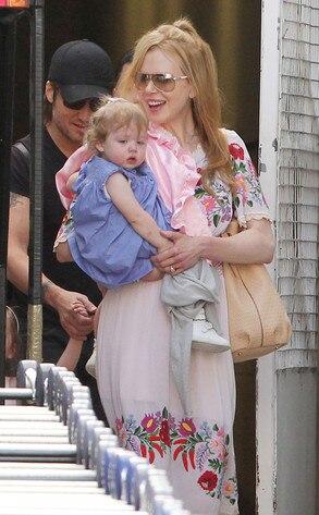 Nicole Kidman, Keith Urban, Faith Kidman Urban