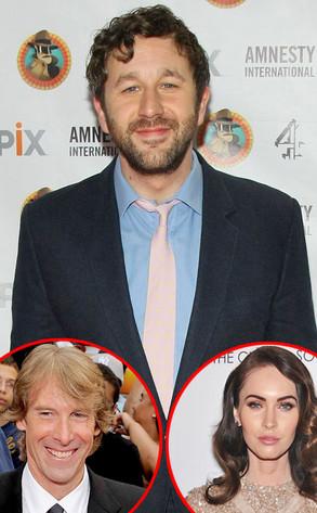 Chris O Dowd, Michael Bay, Megan Fox
