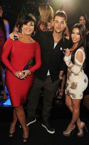 Kim Kardashian, Robert Kardashian, Kris Jenner
