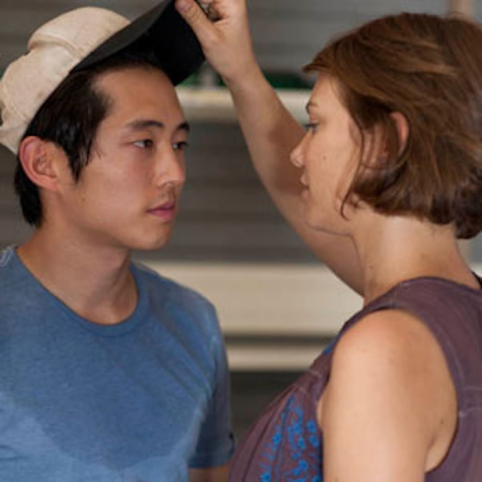The Walking Dead, Lauren Cohan, Steven Yeun
