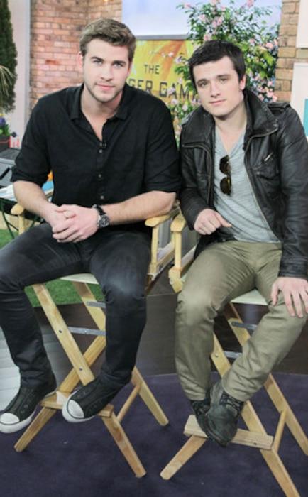Liam Hemsworth, Josh Hutcherson
