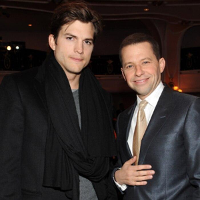Ashton Kutcher, Jon Cryer