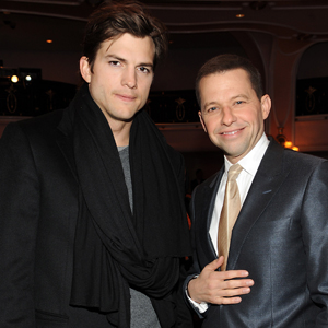 Ashton Kutcher, Jon Cryer