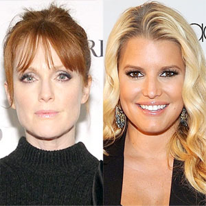 Julianne Moore, Jessica Simpson