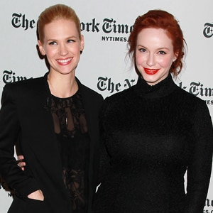 January Jones, Christina Hendricks