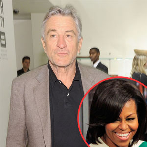 Robert Deniro, Michelle Obama