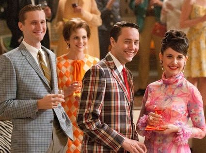 Aaron Stanton, Vincent Kartheiser, Alison Brie, Mad Men