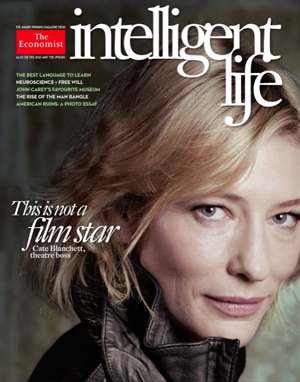 Cate Blanchett, Intelligent Life Magazine Cover