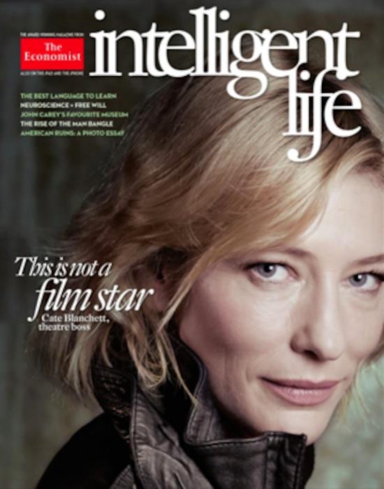 Cate Blanchett, Intelligent Life Magazine Cover