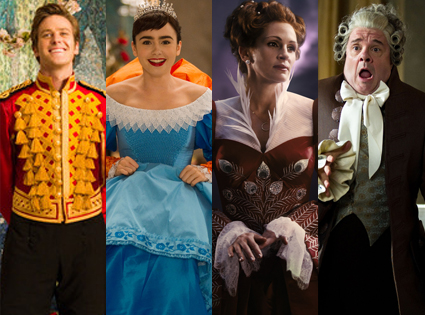 Armie Hammer, Lily Collins, Julia Roberts, Nathan Lane