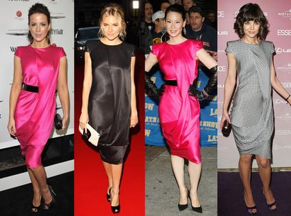 Alexander McQueen Dress Spring 2008 Trend