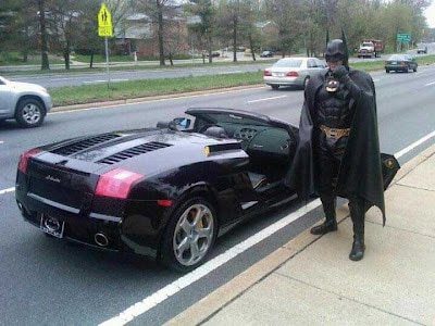 Batman Pulled Over Soup X3
